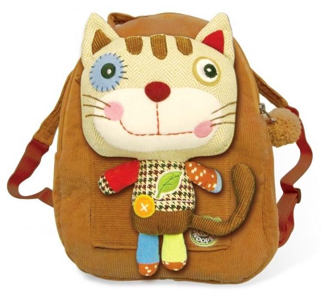 Dětský batoh,batůžek Kočka hnědá