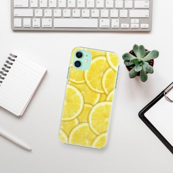 Plastové pouzdro iSaprio - Yellow - iPhone 11
