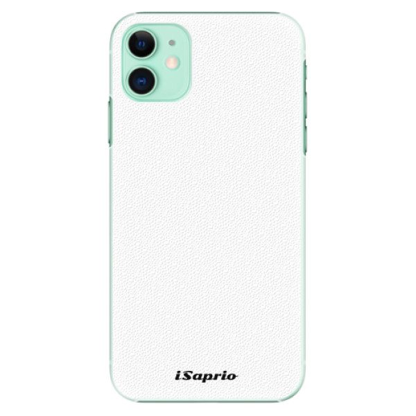 Plastové pouzdro iSaprio - 4Pure - bílý - iPhone 11