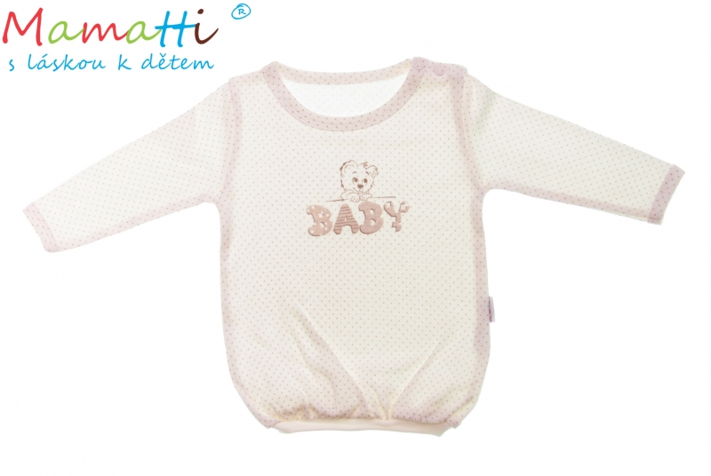 Bavlněné tričko Mamatti -BABY