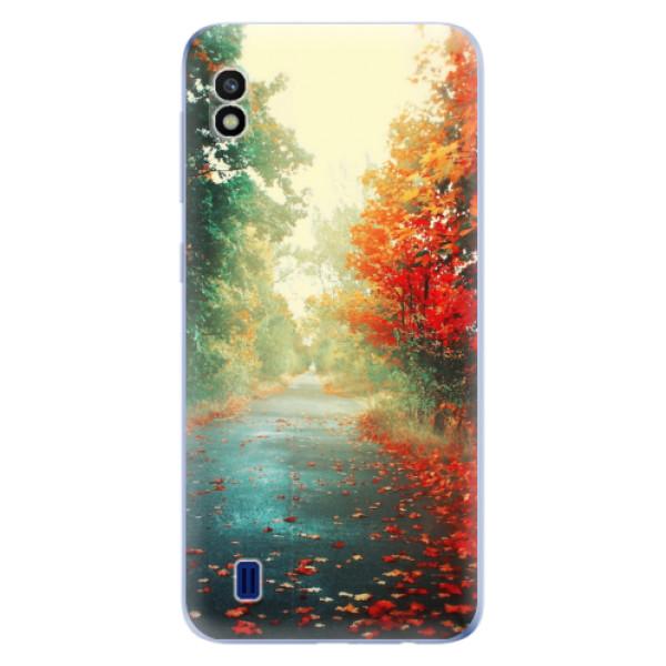 Odolné silikonové pouzdro iSaprio - Autumn 03 - Samsung Galaxy A10