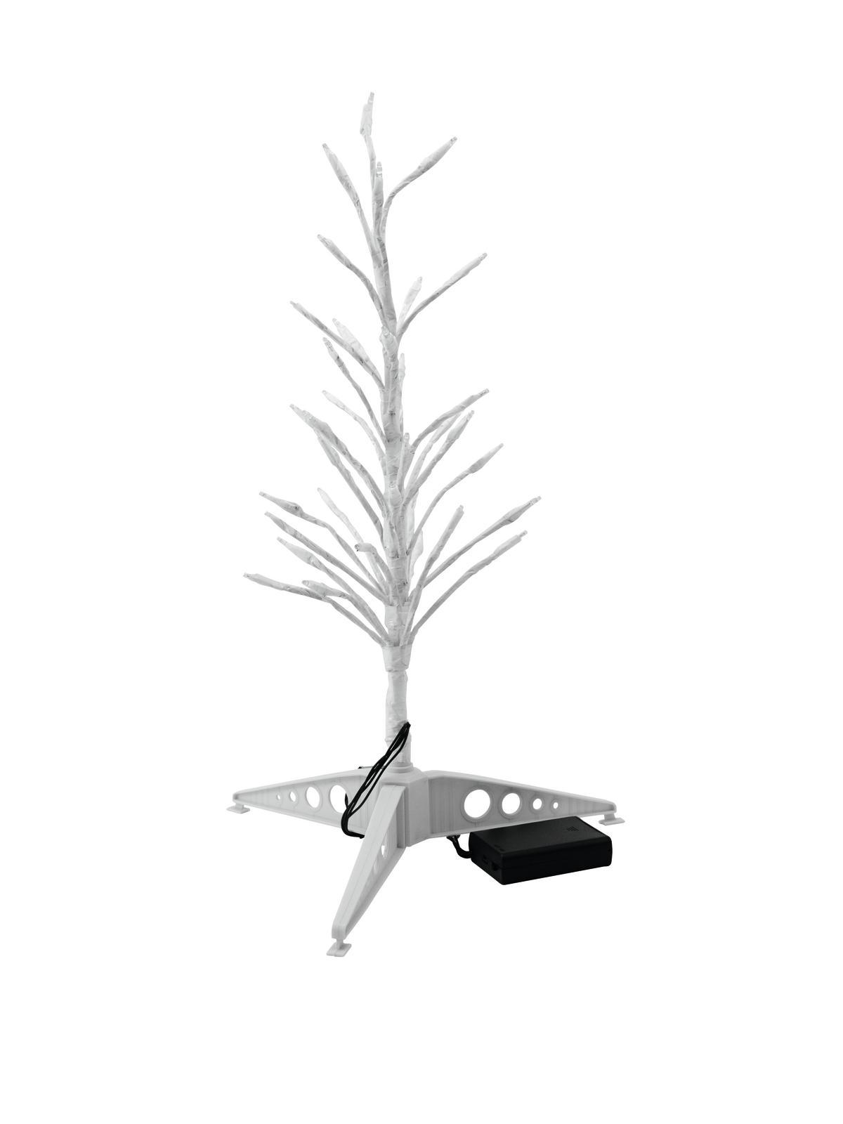 Stromek 40 cm s LED diodami, teplá bílá, na baterii
