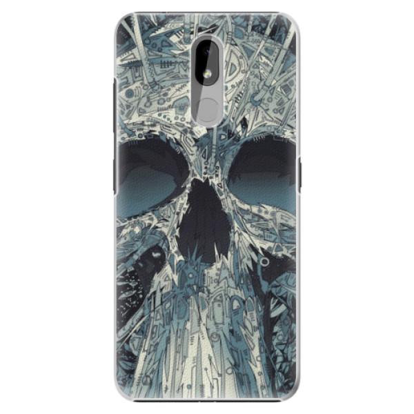 Plastové pouzdro iSaprio - Abstract Skull - Nokia 3.2