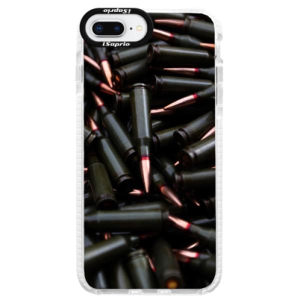 Silikonové pouzdro Bumper iSaprio - Black Bullet - iPhone 8 Plus