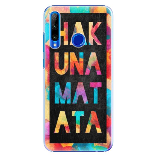 Plastové pouzdro iSaprio - Hakuna Matata 01 - Huawei Honor 20 Lite