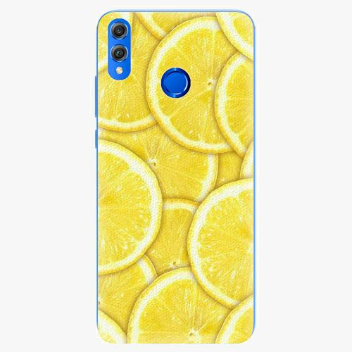 Silikonové pouzdro iSaprio - Yellow - Huawei Honor 8X
