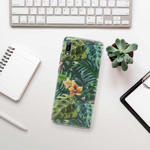 Plastové pouzdro iSaprio - Tropical Green 02 - Huawei Y6 2019