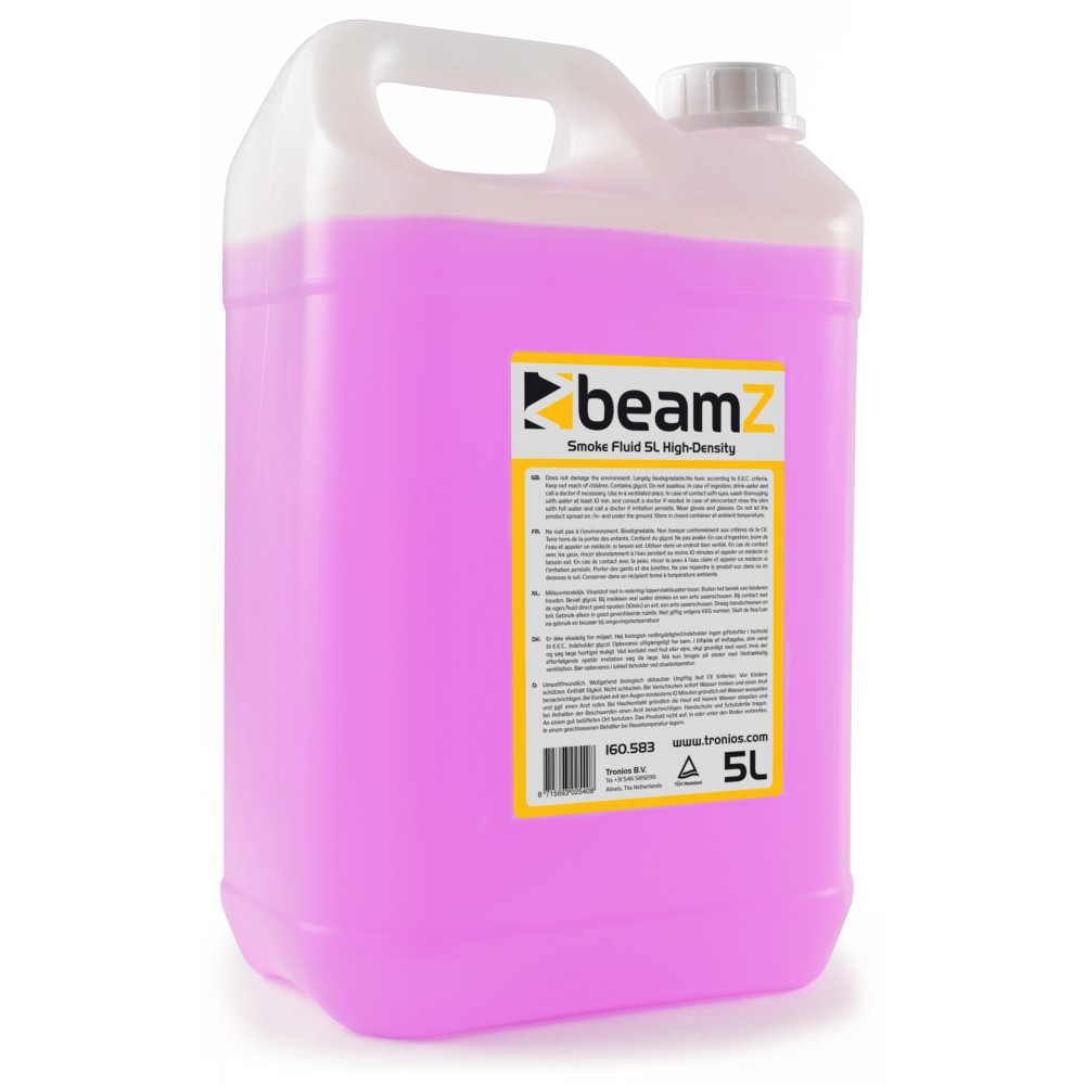 BeamZ náplň do výrobníku mlhy, high density, 5L