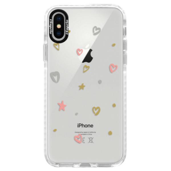 Silikonové pouzdro Bumper iSaprio - Lovely Pattern - iPhone X