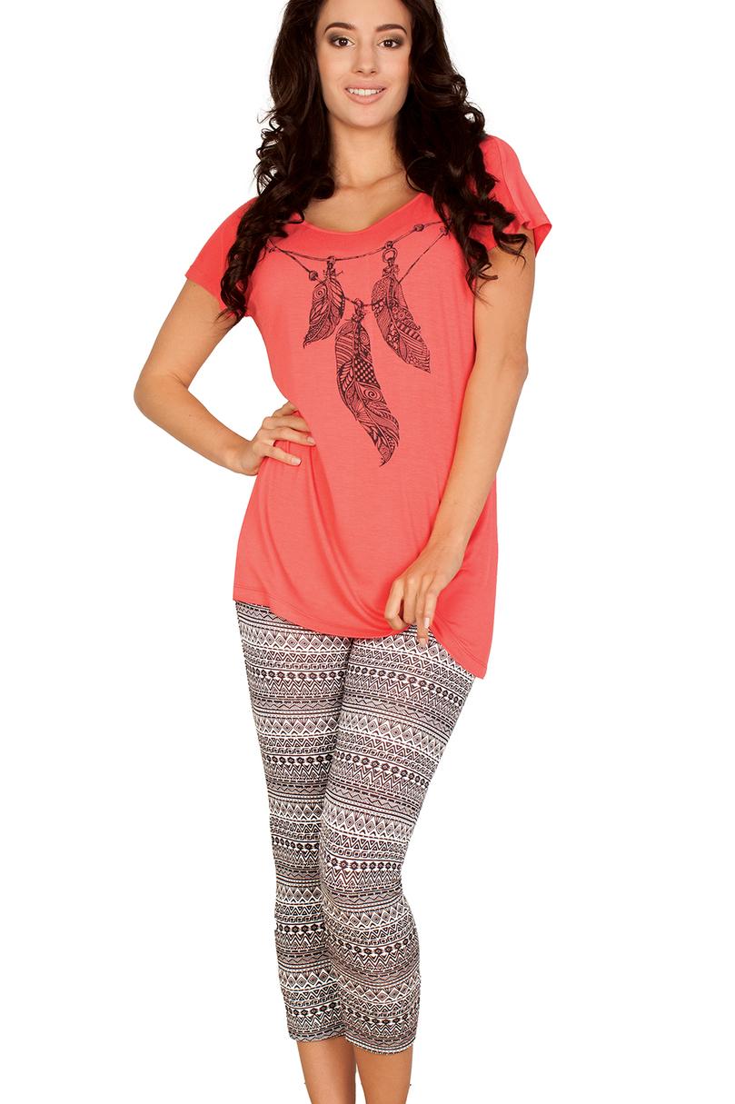 Dámské pyžamo LHS 900 A5 - Korálová/S