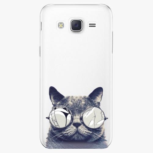 Plastový kryt iSaprio - Crazy Cat 01 - Samsung Galaxy J5