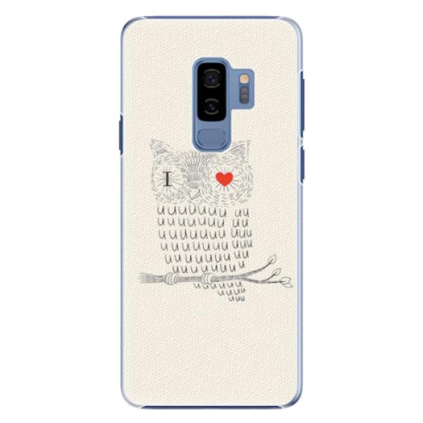 Plastové pouzdro iSaprio - I Love You 01 - Samsung Galaxy S9 Plus