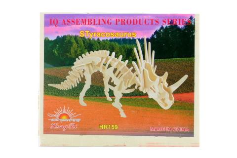 Puzzle dřevěné 3D Styracosaurus