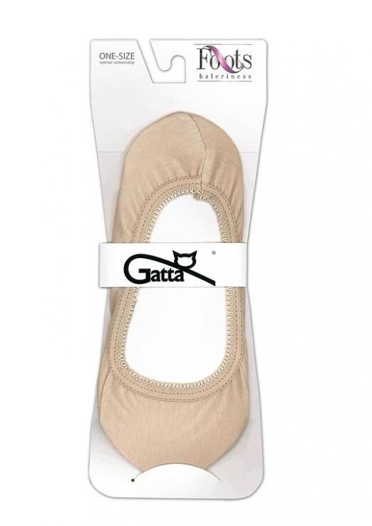 Ponožky do balerín Foots Baletky 04 - Gatta - Bílá/uni