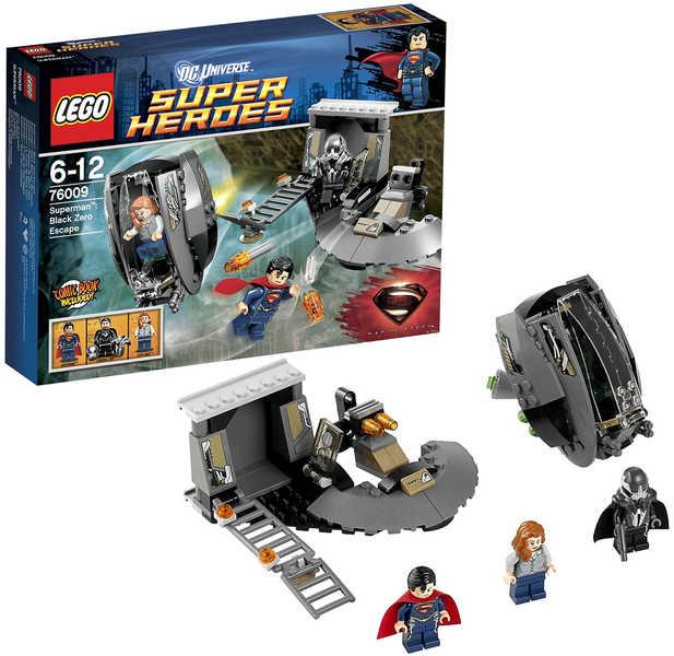 LEGO SUPER HEROES Únik z Black Zero STAVEBNICE