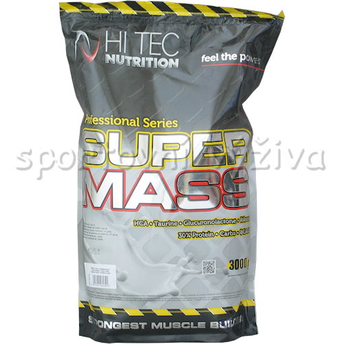 Super Mass Gainer - 3000g-jahoda