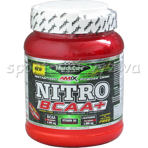 Nitro BCAA + - 500g-fruit-punch