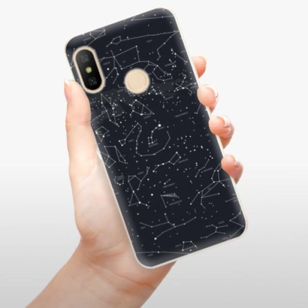 Odolné silikonové pouzdro iSaprio - Night Sky 01 - Xiaomi Mi A2 Lite