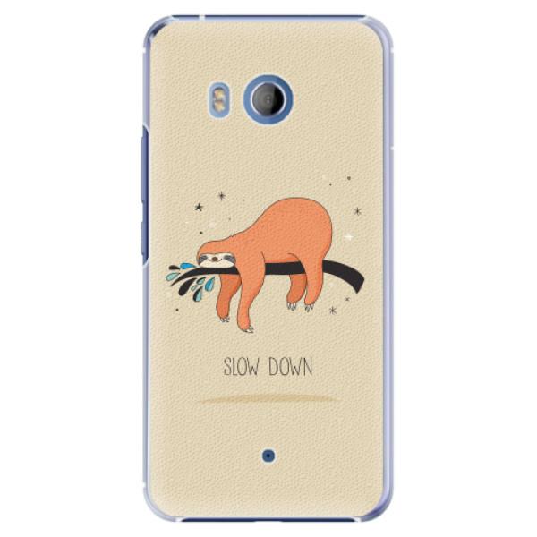 Plastové pouzdro iSaprio - Slow Down - HTC U11