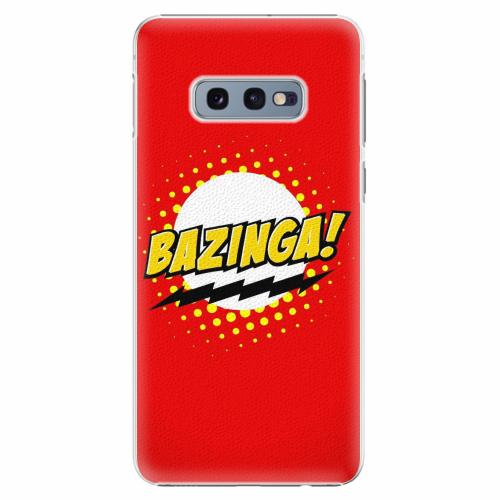 Plastový kryt iSaprio - Bazinga 01 - Samsung Galaxy S10e