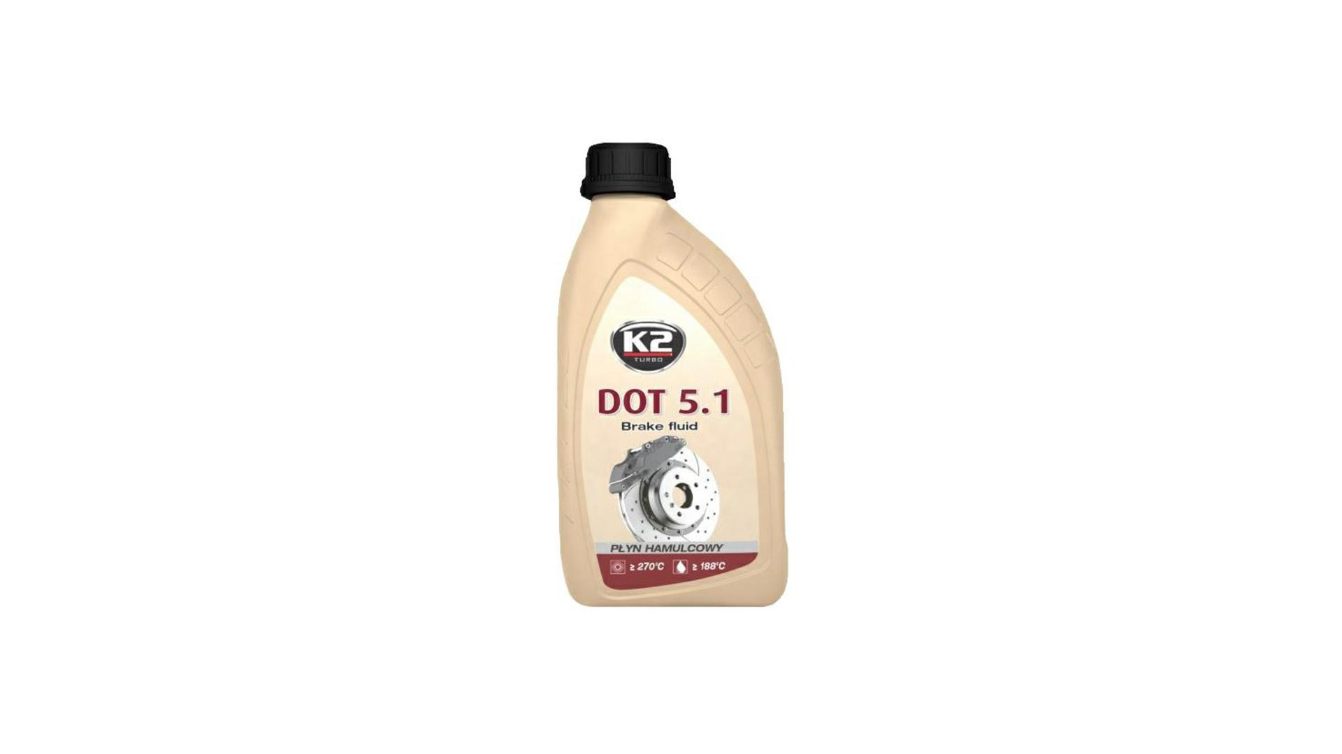 K2 DOT 5.1 - 500 g - brzdová kapalina