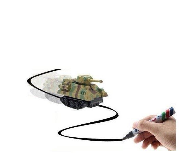 Magické autíčko - tank