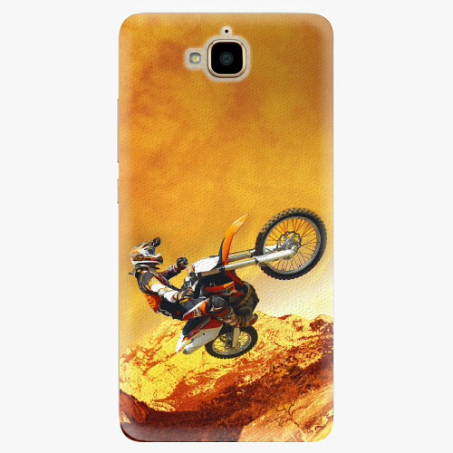 Plastový kryt iSaprio - Motocross - Huawei Y6 Pro
