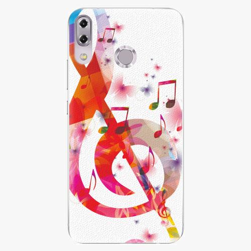 Plastový kryt iSaprio - Love Music - Asus ZenFone 5Z ZS620KL