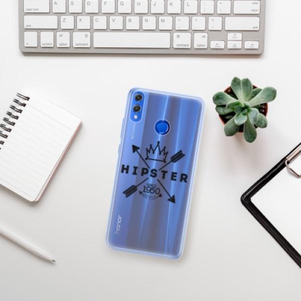 Silikonové pouzdro iSaprio - Hipster Style 02 - Huawei Honor 8X