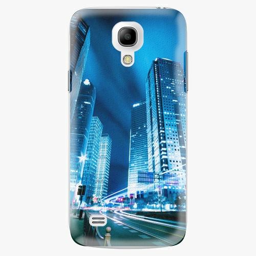 Plastový kryt iSaprio - Night City Blue - Samsung Galaxy S4 Mini