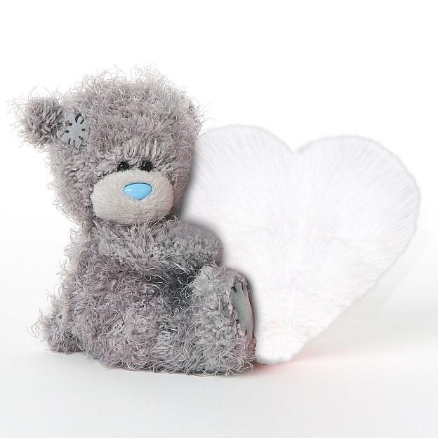 MTY medvídek bílé srdce