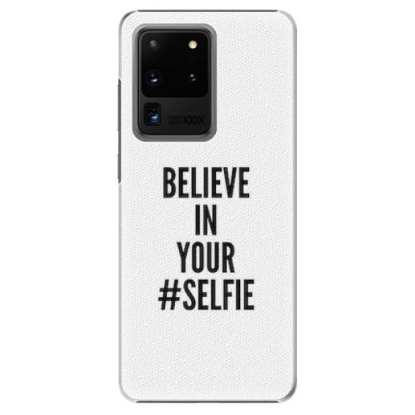Plastové pouzdro iSaprio - Selfie - Samsung Galaxy S20 Ultra