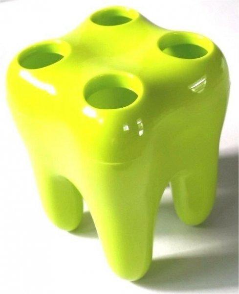 Zubní držák kartáčků - Zelená