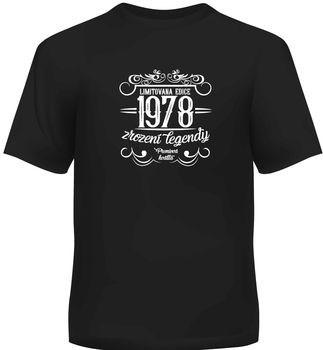 Humorná trička - Pánské humorné tričko - 1978, vel. XL