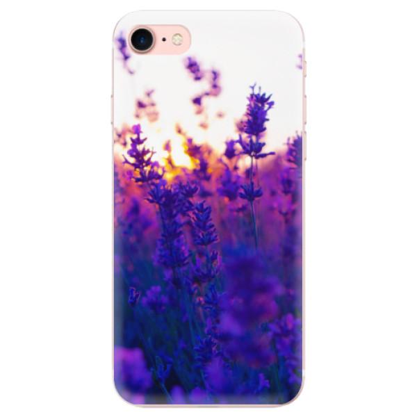Odolné silikonové pouzdro iSaprio - Lavender Field - iPhone 7