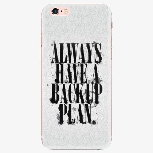 Plastový kryt iSaprio - Backup Plan - iPhone 7 Plus