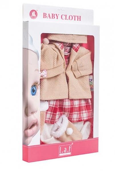 Sada oblečení pro panenku, vel. 43 cm - Kárko