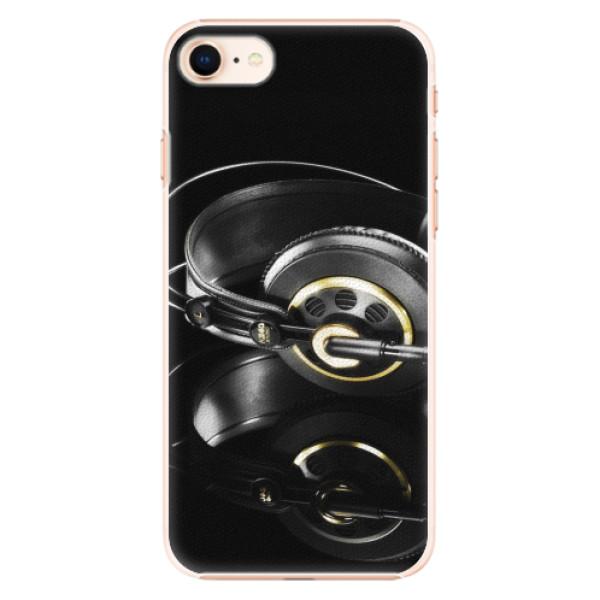 Plastové pouzdro iSaprio - Headphones 02 - iPhone 8