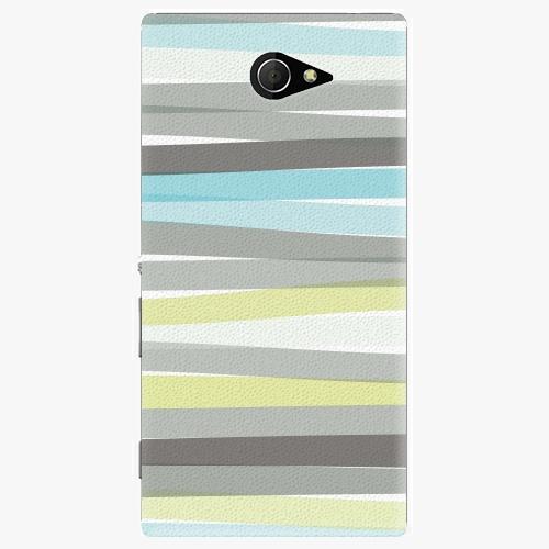 Plastový kryt iSaprio - Stripes - Sony Xperia M2