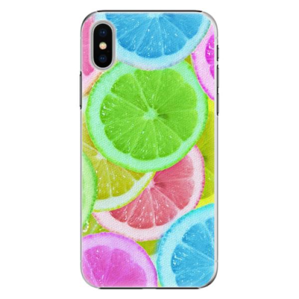 Plastové pouzdro iSaprio - Lemon 02 - iPhone X
