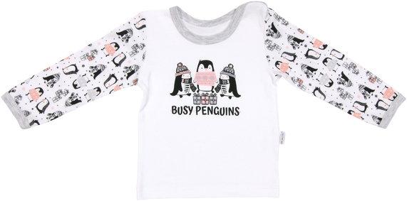Bavlněné pyžamko Penguin - 74 (6-9m)