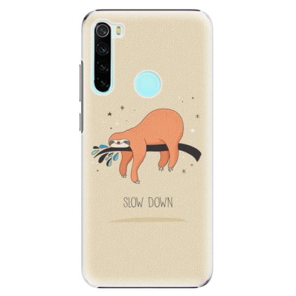 Plastové pouzdro iSaprio - Slow Down - Xiaomi Redmi Note 8