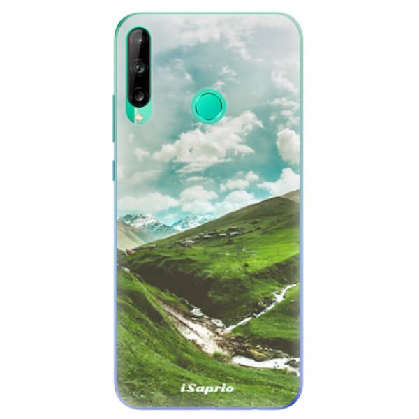 Odolné silikonové pouzdro iSaprio - Green Valley - Huawei P40 Lite E