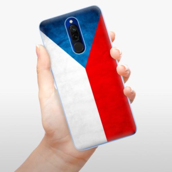 Odolné silikonové pouzdro iSaprio - Czech Flag - Xiaomi Redmi 8