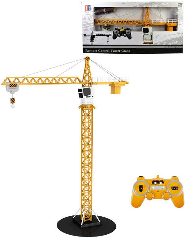 RC Jeřáb stavební 100cm na dálkové ovládání vysílačku 24GHz s nákladem