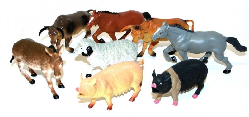 Zvířata domácí 12 - 20 cm