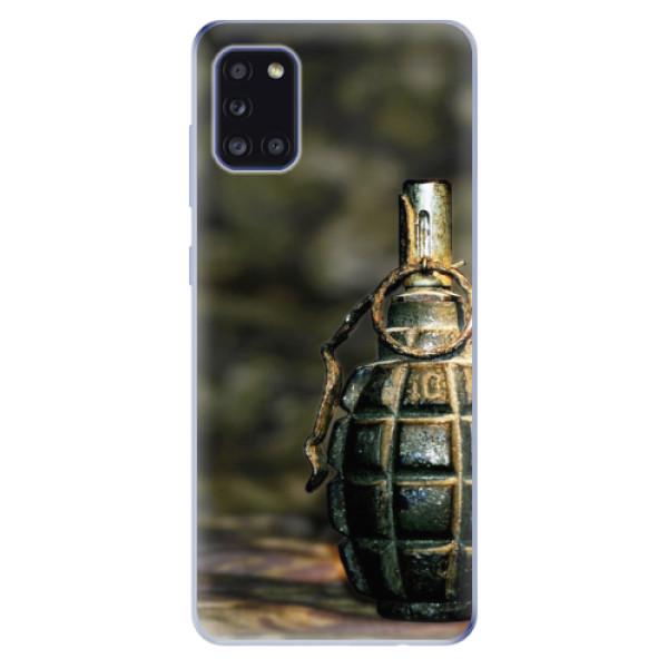 Odolné silikonové pouzdro iSaprio - Grenade - Samsung Galaxy A31