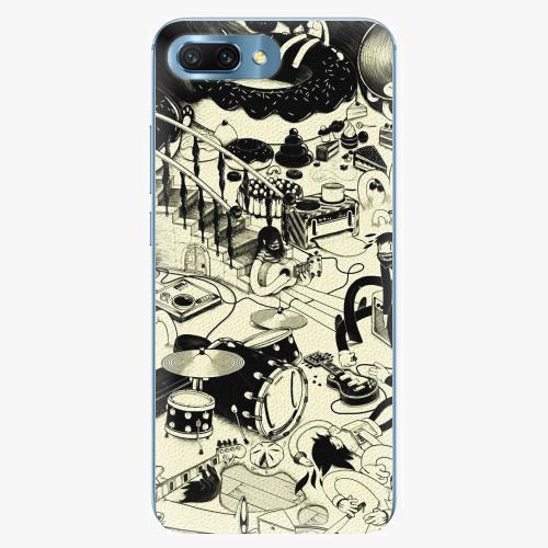 Plastový kryt iSaprio - Underground - Huawei Honor 10