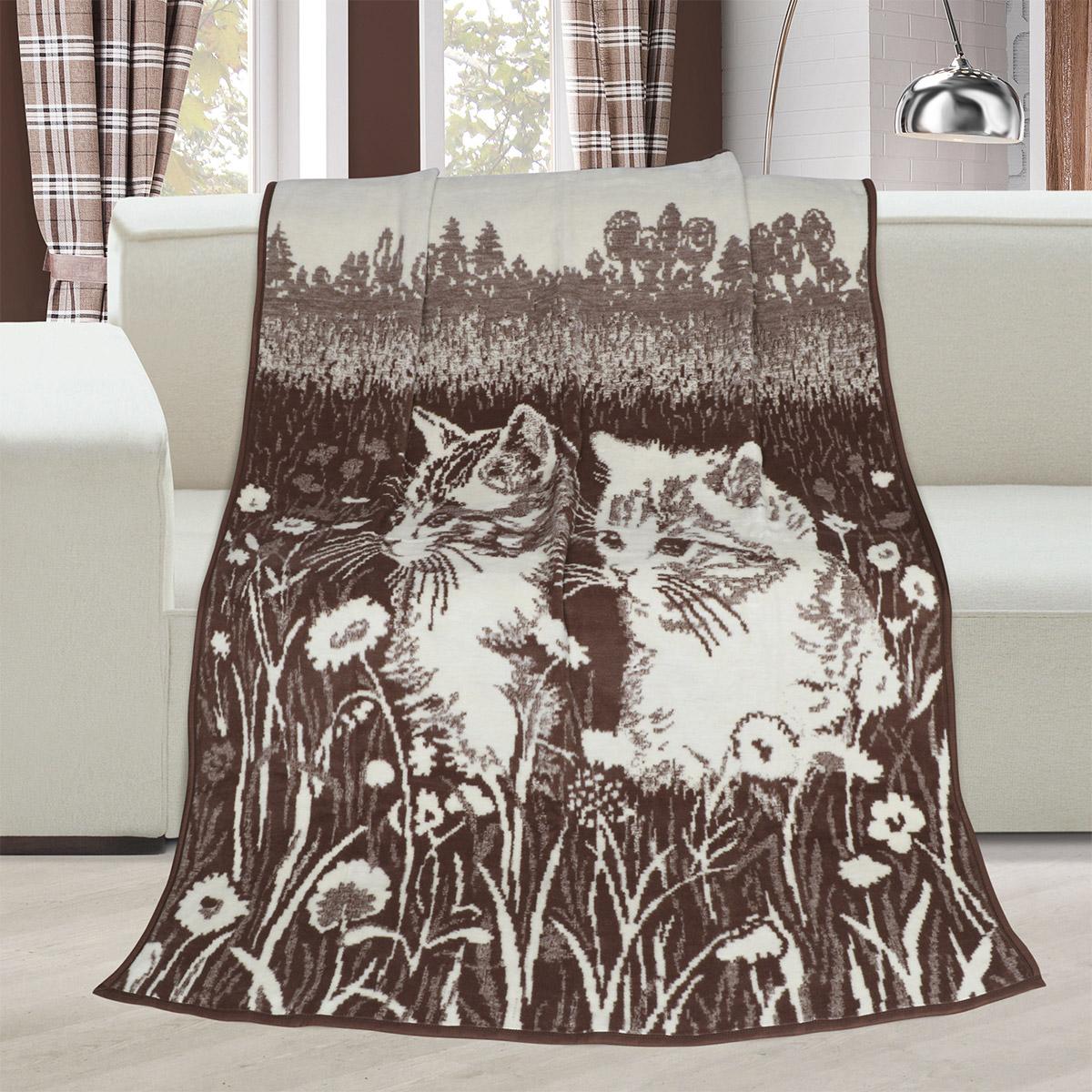Deka Karmela jednolůžko 150x200cm koťata
