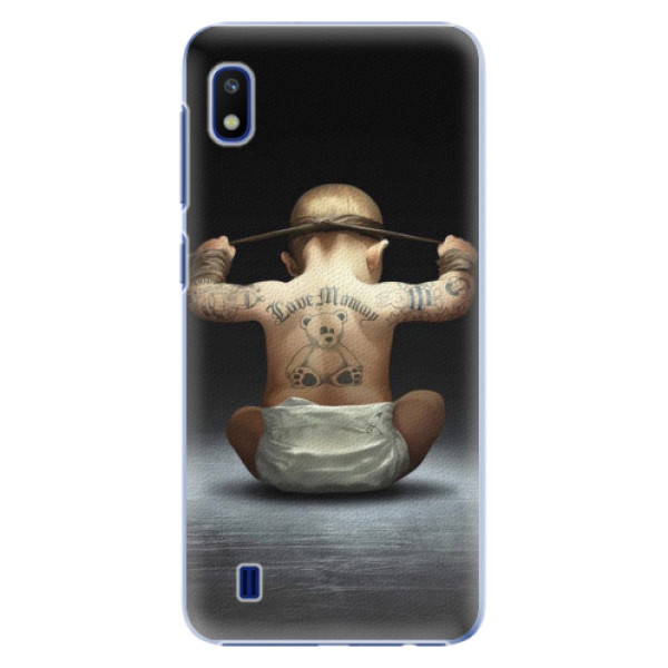 Plastové pouzdro iSaprio - Crazy Baby - Samsung Galaxy A10